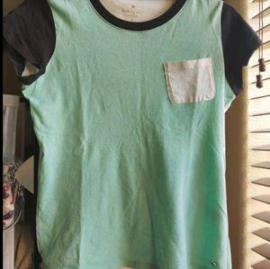Kate Spade Color Block T-Shirt Wmn's Size Xs- Sm